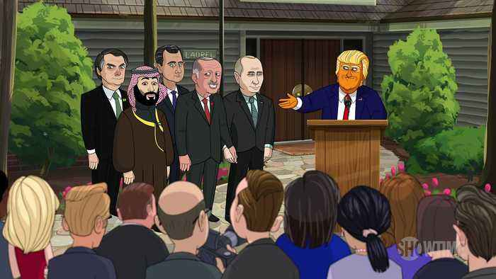 Our Cartoon President Season 3 Clip - Cartoon Donald Trump Starts a G-7 for Ruthless Dictators