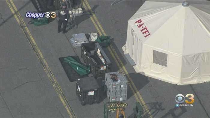 PA Task Force One Found Setting Up Tents At Citizens Bank Park For Possible Mass Testing Site, Sources Say