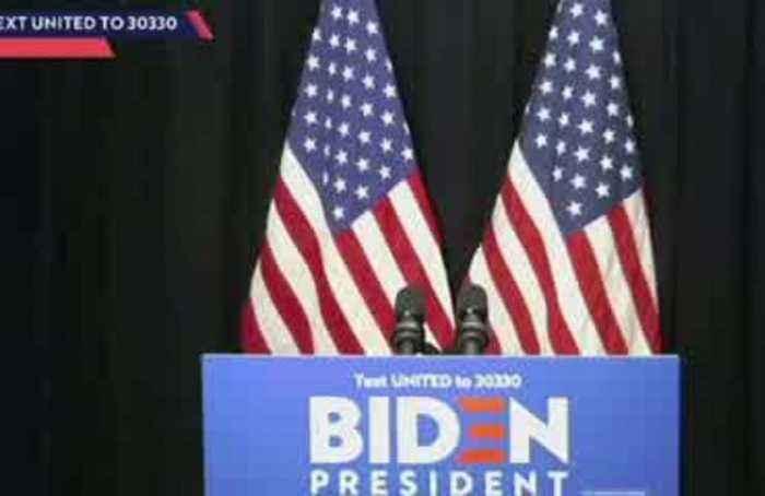 Joe Biden calls for unity amid coronavirus outbreak