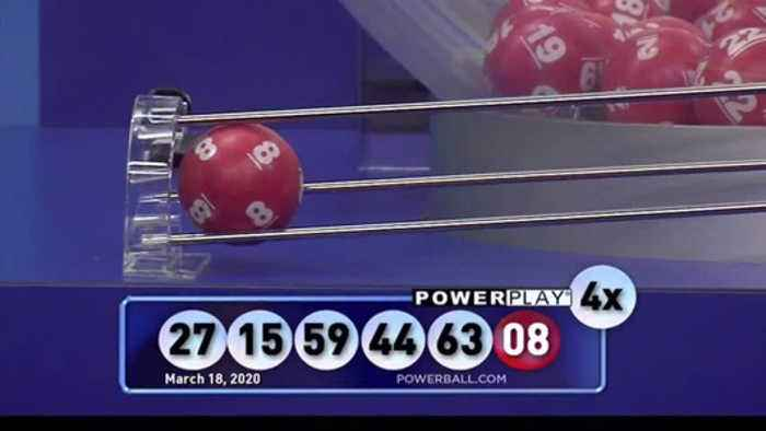 Winning Powerball numbers for March 18th, 2020