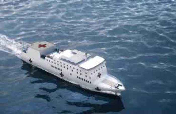 New York will receive floating hospital to deal with COVID-19 outbreak