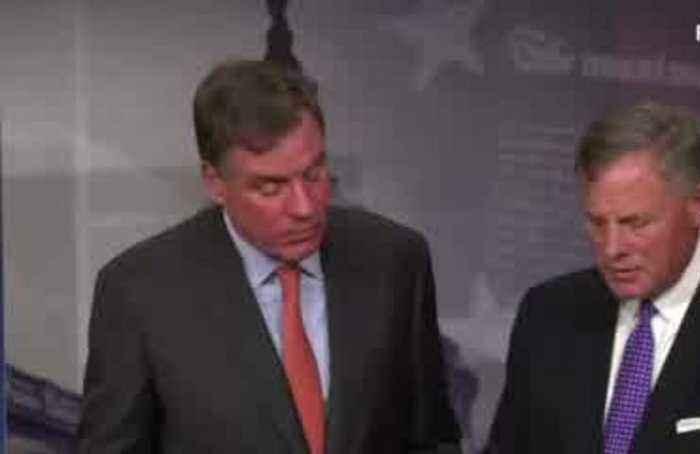 Reports GOP senators dumped stock spark calls to resign
