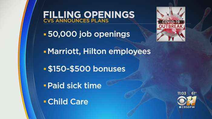 CVS Health Offering Employee Bonuses, Added Benefits During Pandemic