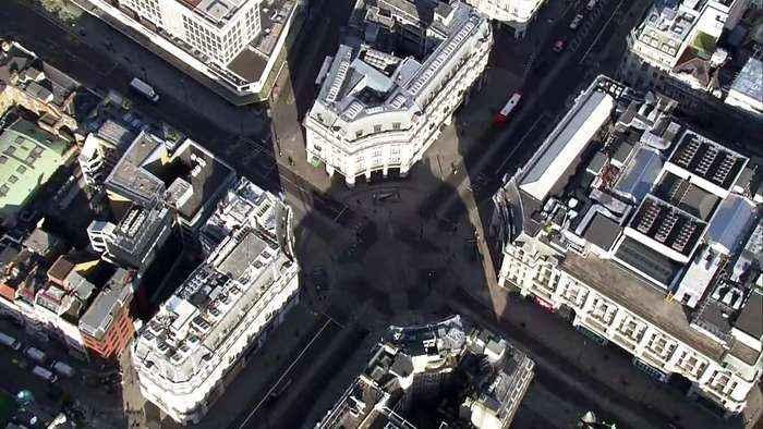 London empty following Covid-19 lockdown