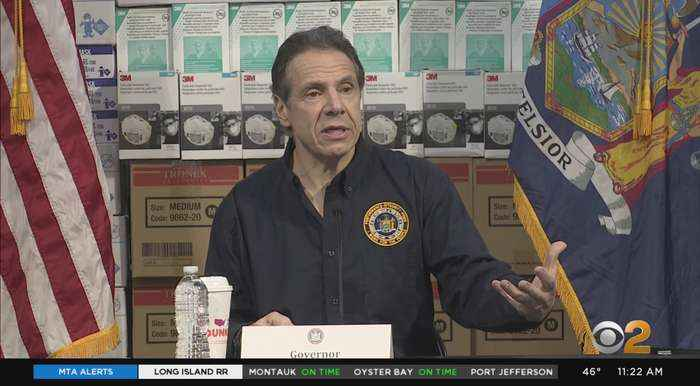 New York Gov. Andrew Cuomo Updates On Coronavirus Infection Rates, Most Urgent Needs