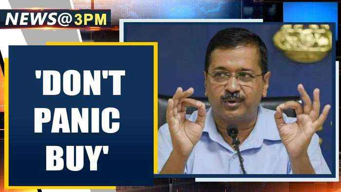 Delhi CM Kejriwal urges citizens not to panic buy, shares helpline | Oneindia News