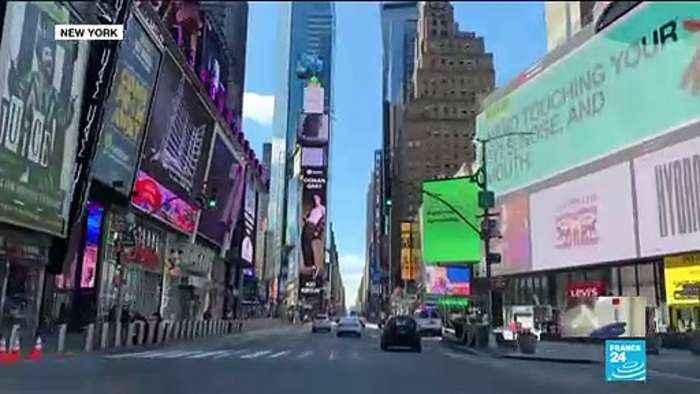 Coronavirus cases continue to soar in New York