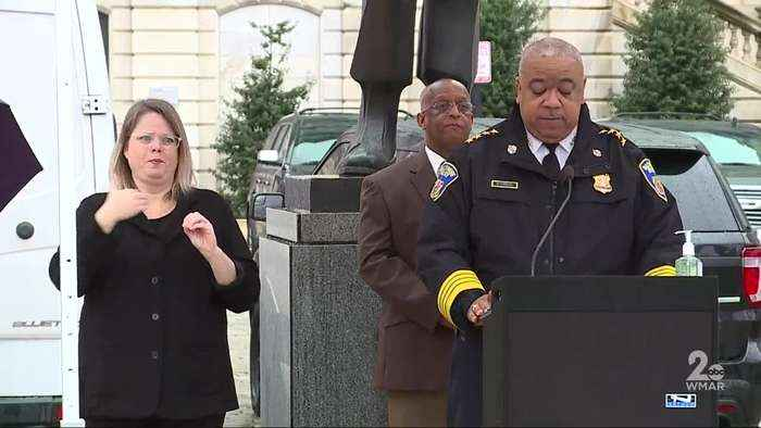 Baltimore Police taking extra pre-cautions to minimize officer's exposure to virus