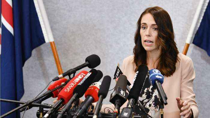 New Zealand PM Ardern Urges People To Keep Contacts To A Bare Minimum