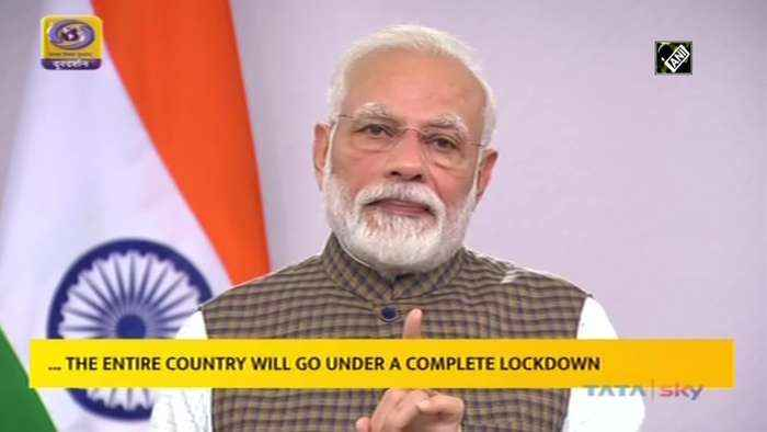 India to go under total lockdown for 21 days from midnight announces PM Modi