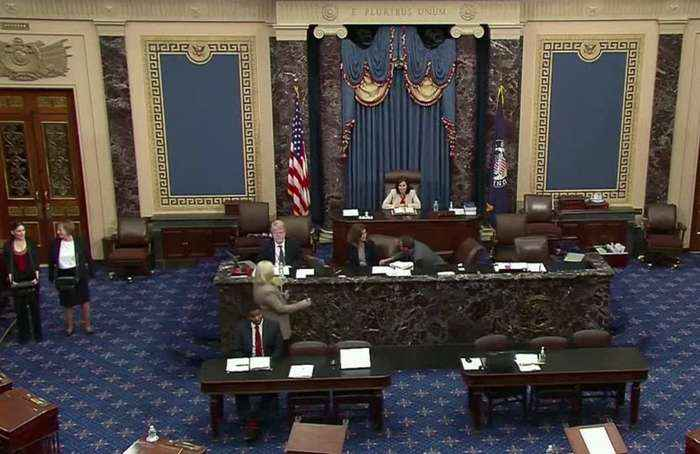 Senate reaches deal on $2 trillion relief package