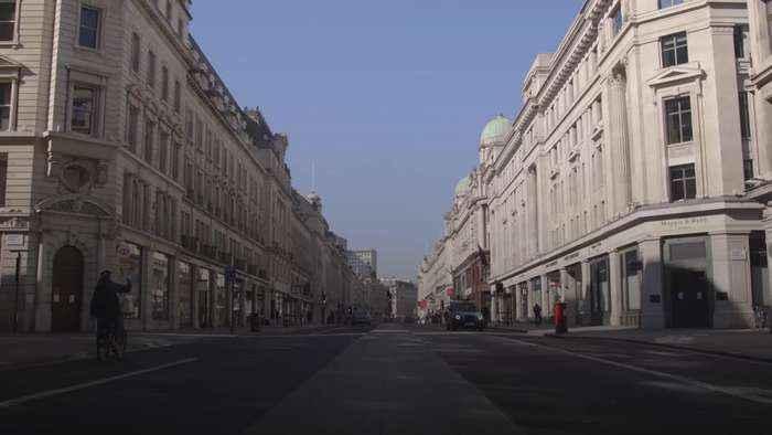 Timelapse: London on Lockdown