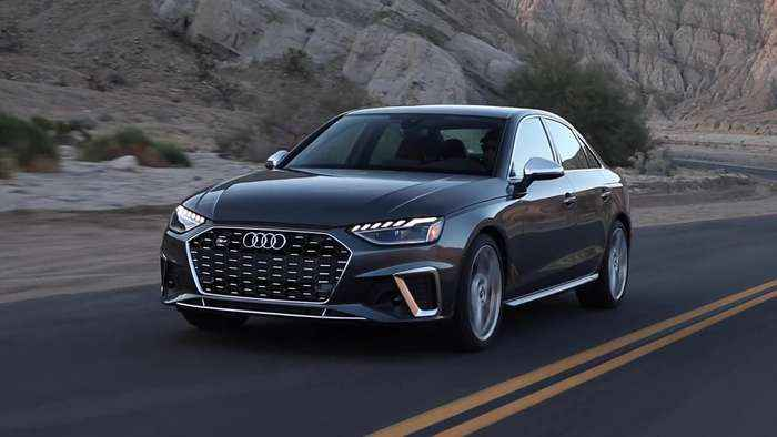 2020 Audi S4 Driving Video