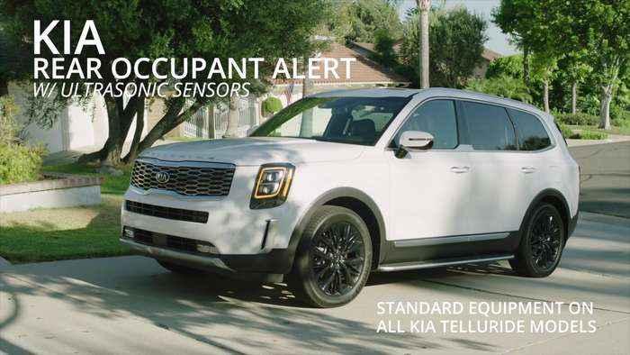 Kia Rear Occupant Alert System Demonstration
