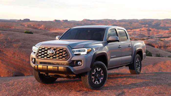 2020 Toyota Tacoma TRD Off Road Driving