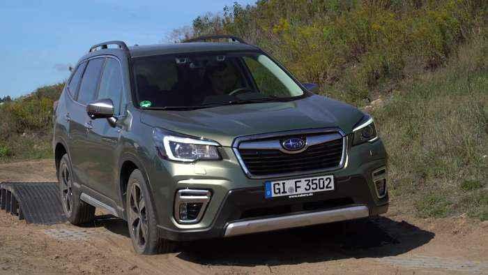 New Subaru Forester ECO HYBRID Off-road