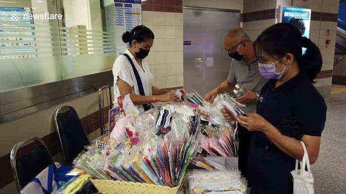 Compulsory face mask measures introduced in Bangkok to battle coronavirus