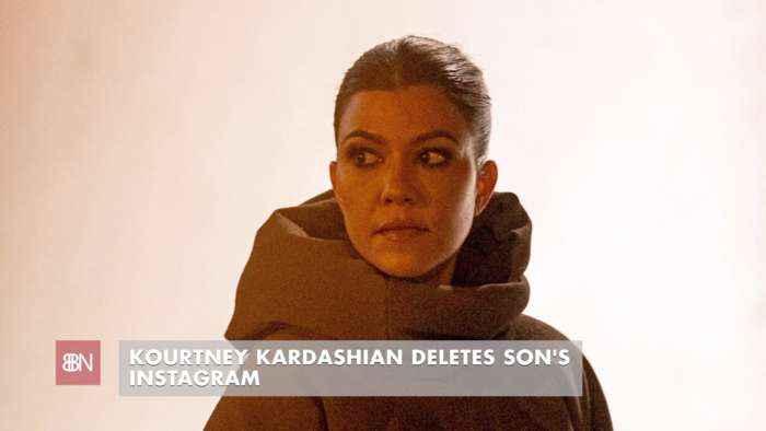Kourtney Kardashian Deletes Son's Instagram