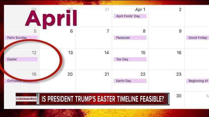 Trump's hope for Easter 'reopening' unlikely, U-M scientist say