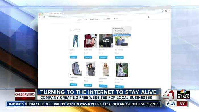 Turning to the internet to stay alive