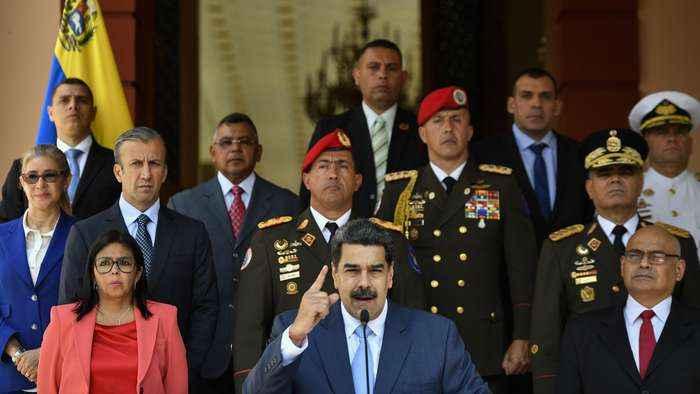 U.S. Files Criminal Charges Against Venezuela's Maduro