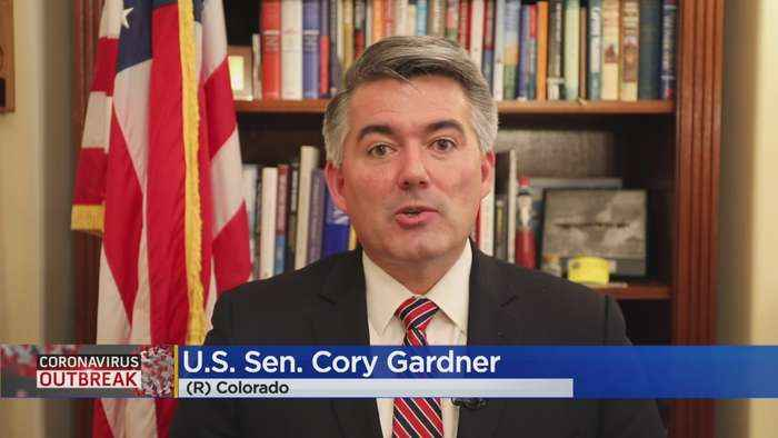 Sen. Cory Gardner Says CARES Act Will Provide Stability During Coronavirus Outbreak