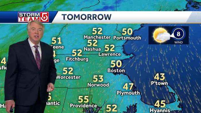 Video: Sunnier skies, warmer temperatures ahead