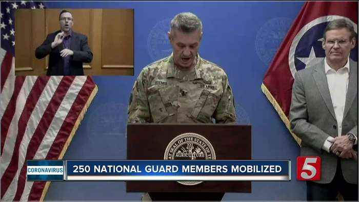 250 National Guard members mobilized