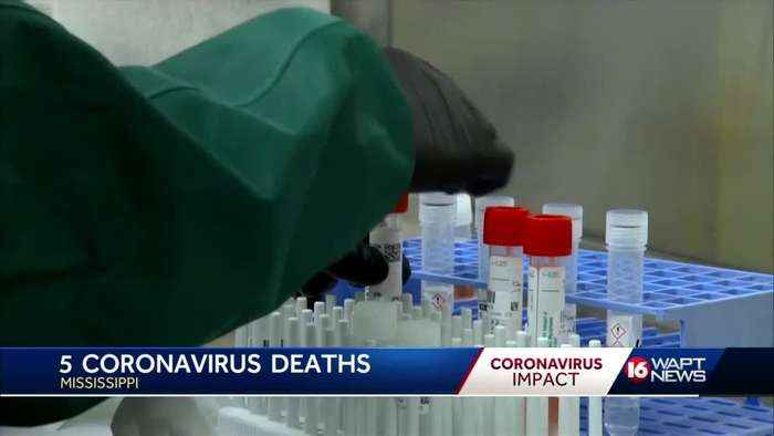 Mississippi now has 5 deaths from COVID-19
