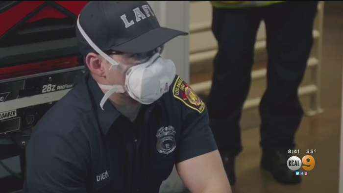 LAFD Makes Changes To Keep Firefighters, Paramedics Safe During Coronavirus Pandemic