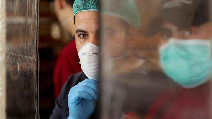 Coronavirus: Doctor warns of 'incoming disaster' in Gaza