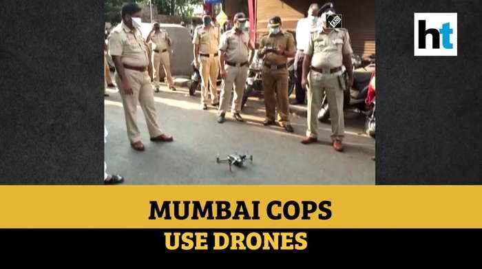 Lockdown over coronavirus: Mumbai police use drones to monitor situation