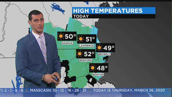 WBZ Morning Forecast For March 26
