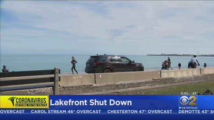 Police Clear, Patrol Lakefront After Warning From Mayor Lightfoot
