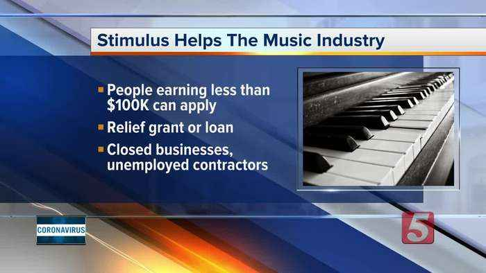 Stimulus package to help music industry