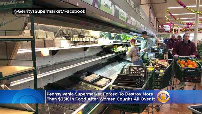 Pennsylvania Supermarket Forced To Destroy More Than $35K In Food After Women Coughs All Over It
