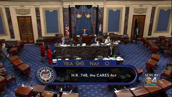 US Senate Passes $2 Trillion Stimulus Package
