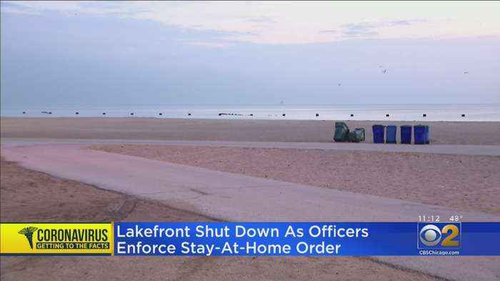 Aldermen Say Lakefront Closed To Public After People Ignore Coronavirus Orders