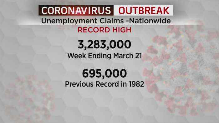 Unemployment Claims Hit A Record High Due To Coronavirus