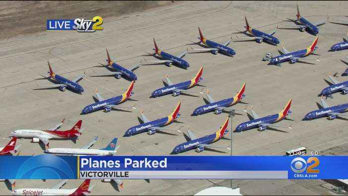 Demand Jumps For Parking Space For Unused Planes