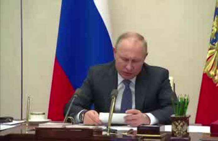 Coronavirus: Putin calls for sanctions on essential goods to be lifted at G20 summit