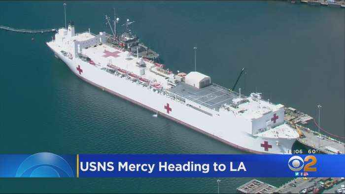 USNS Mercy To Arrive Today, Will Not Affect Port Of LA Operations