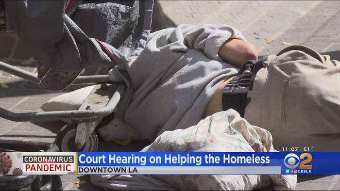 City Leaders In Court Over Homeless Lawsuit