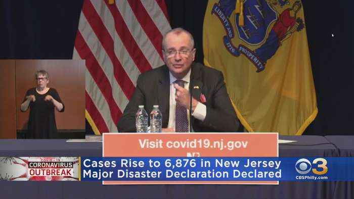 New Jersey Disaster Declaration Approved As Coronavirus Cases Rise To Over 6,800