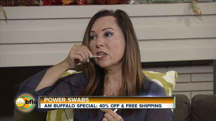 Power Swabs for Whiter Teeth