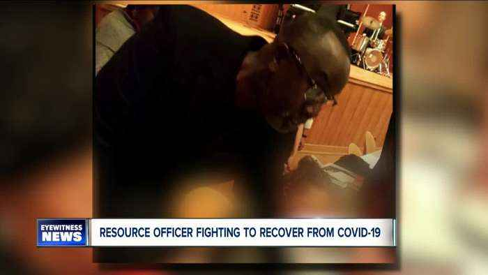 Beloved school resource officer fighting to recover from COVID-19