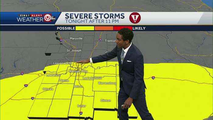 First round of storms to move in late Thursday