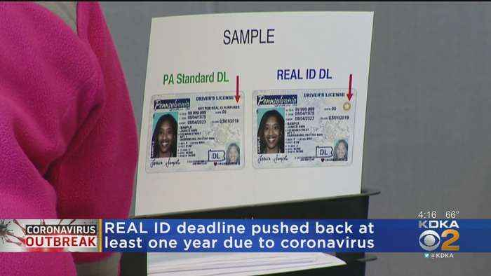REAL ID Deadline Pushed Back At Least 1 Year
