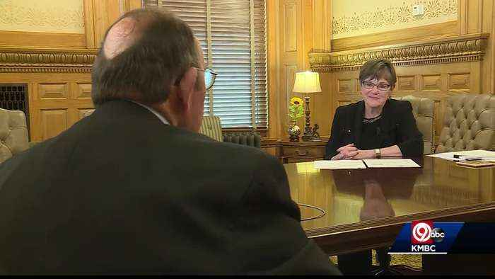 Gov. Laura Kelly talks about state's unemployment rate during COVID-19 outbreak