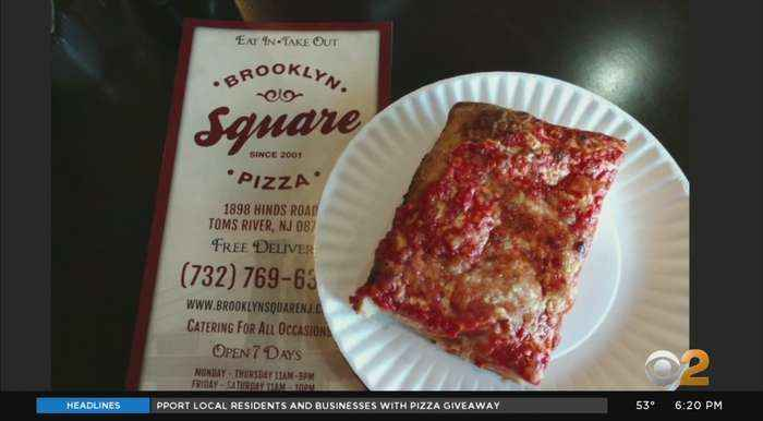 Coronavirus Update: Toms River Police Department Buys Pizza For Residents